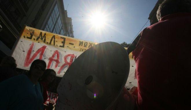Γενική απεργία ΓΣΕΕ-ΑΔΕΔΥ και πορεία στην βουλή,Τρίτη 24 Σεπτεμβρίου 2013 (EUROKINISSI-ΤΑΤΙΑΝΑ ΜΠΟΛΑΡΗ)
