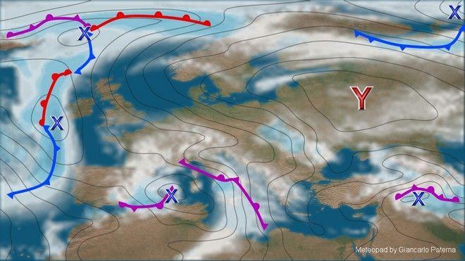 Αραιή συννεφιά και σκόνη από την Αφρική την Μ. Δευτέρα