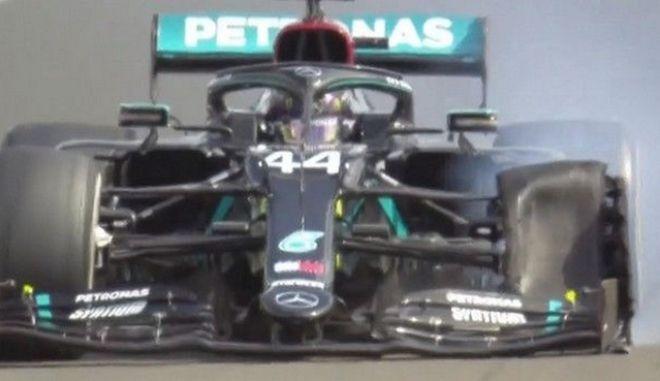 Βρετανικό GP: Μεγάλος νικητής ο Χάμιλτον με κλαταρισμένο ελαστικό