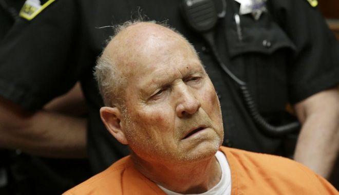 """Ο """"δολοφόνος του Γκόλντεν Στέιτ"""" Τζόζεφ Ντι Άντζελο"""