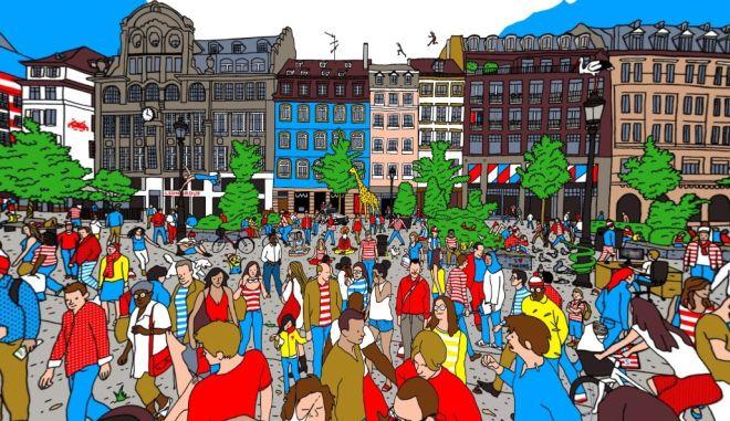 Μπορείς να βρεις τον Waldo σε αυτή τη 360° εικόνα;