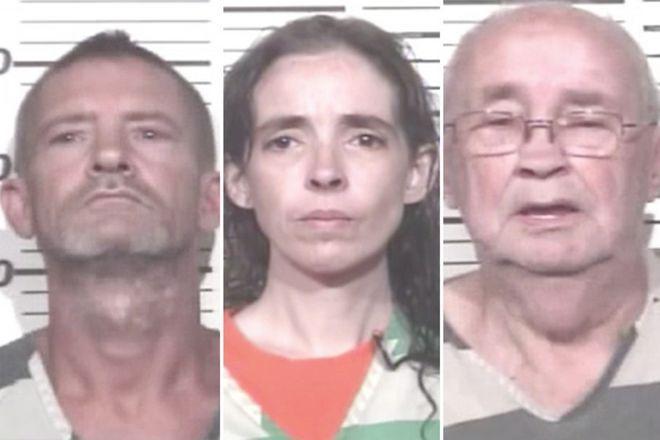 Οι τρεις συλληφθέντες