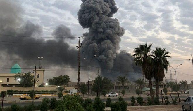 Έκρηξη στο Ιράκ(ΦΩΤΟ ΑΡΧΕΙΟΥ)