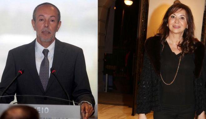 Ο Γιάννης Κούστας και η Σοφία Γιαννικοπούλου