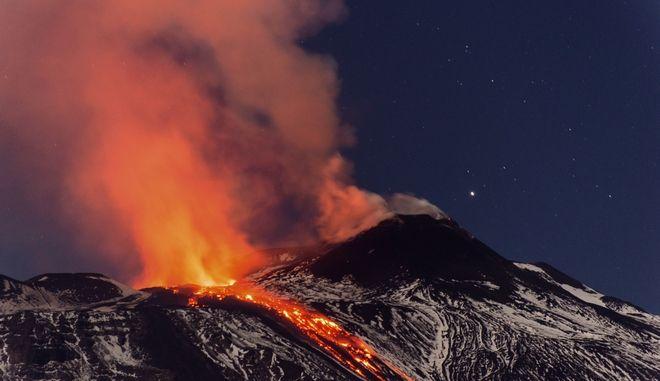 Το ηφαίστειο της Αίτνας (AP Photo)