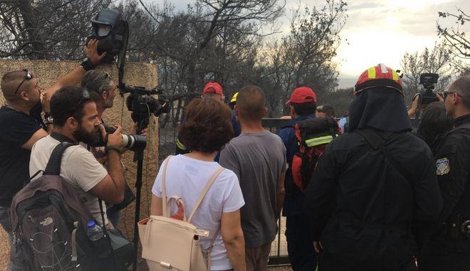 Φωτιά στην Αττική: 30 νεκροί σε χωράφια στην Αργυρά Ακτή