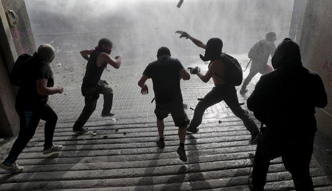 Νέες διαδηλώσεις στη Χιλή