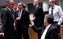 Eurogroup: 'Θερμό επεισόδιο' Τσακαλώτου - Ντράγκι για τους ηλεκτρονικούς πλειστηριασμούς
