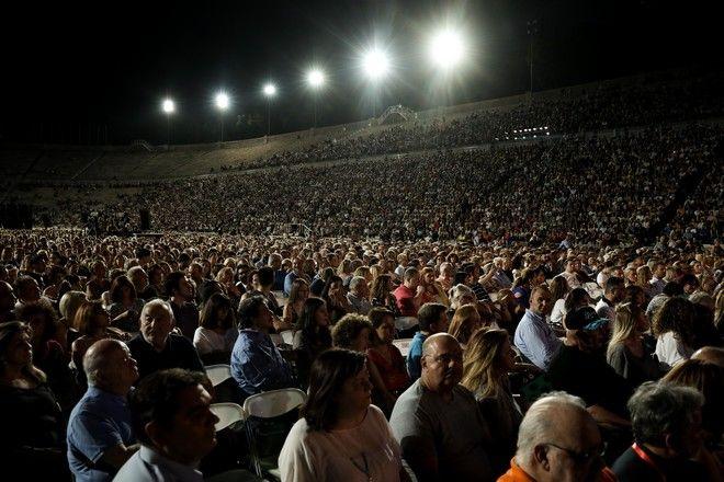 Συναυλία για τον Μίκη Θεοδωράκη στο Παναθηναϊκό Στάδιο, Δευτέρα 24 Ιουνίου 2019.