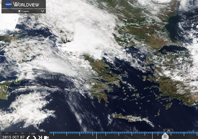 Καιρός: Σε ισχύ έκτακτο δελτίο επικίνδυνων φαινομένων με ισχυρές βροχές και καταιγίδες