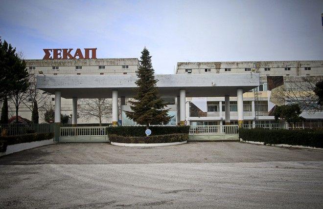 Το εργοστάσιο της καπνοβιομηχανίας ΣΕΚΑΠ (Συνεταιριστική Καπνοβιομηχανία Ελλάδας) στην Ξάνθη.