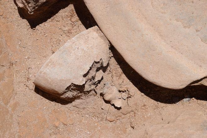 Από την ανασκαφή στην Κύθνο