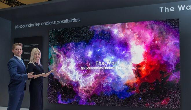 Η Samsung Αποκαλύπτει το Μέλλον των Οθονών με Επαναστατική Αρθρωτή Micro LED Τεχνολογία στην έκθεση CES