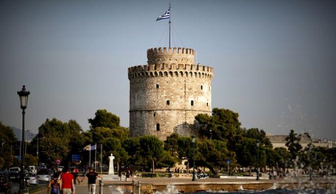 Ο Λευκός Πύργος στη Θεσσαλονίκη (Φωτογραφία αρχείου)