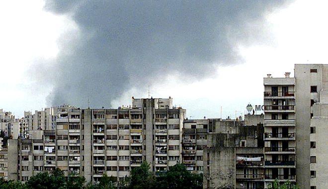 Η βομβαρδισμένη Ποντγκόριτσα τον Απρίλιο του 1999
