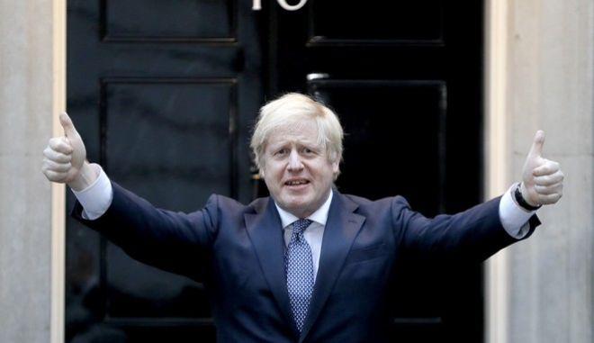 Ο πρωθυπουργός της Βρετανίας, Μπόρις Τζόνσον
