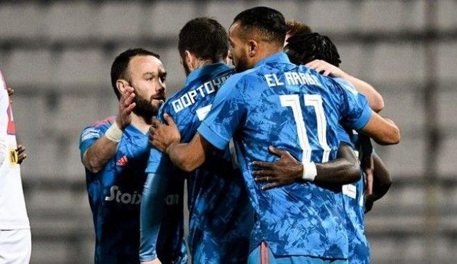 """Βόλος - Ολυμπιακός 1-2: Καθάρισε με Φορτούνη, Εμβιλά, """"έχασε"""" τον Σεμέδο"""