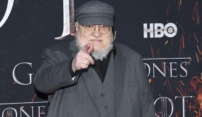 """Ο συγγραφέας του """"Game of Thrones"""" George R. R. Martin"""