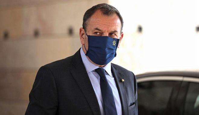 Ο υπουργός Άμυνας Νίκος Παναγιωτόπουλος
