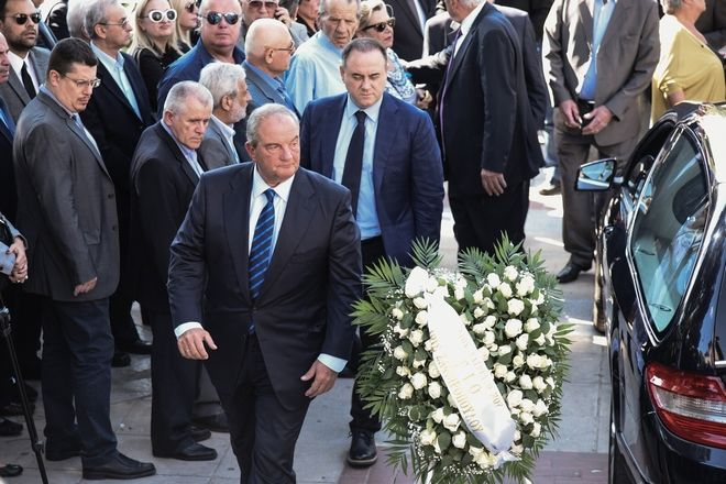 Funeral of the lawyer Michalis Zafiropoulos, in Athens, on October 14, 2017 /      ,  ,  14 , 2017