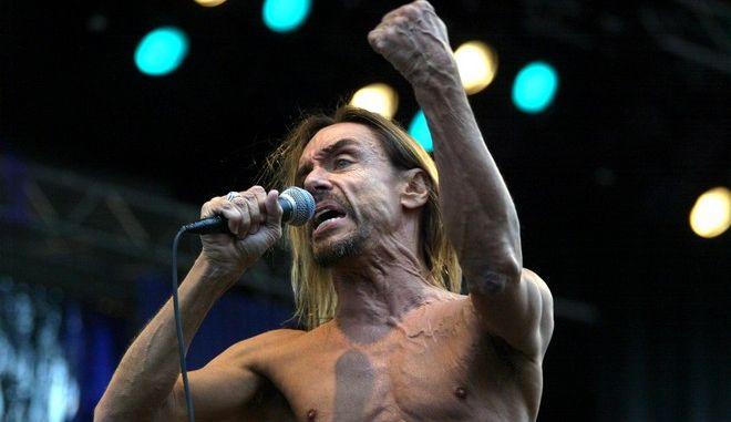 Ο θρύλος της πανκ ροκ Iggy Pop