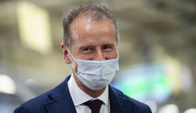 O CEO της Volkswagen CEO Herbert Diess
