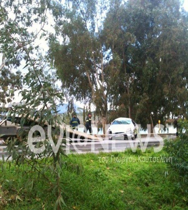 Δύο τραυματίες από καπάκι φρεατίου που εκτοξεύθηκε στο δρόμο