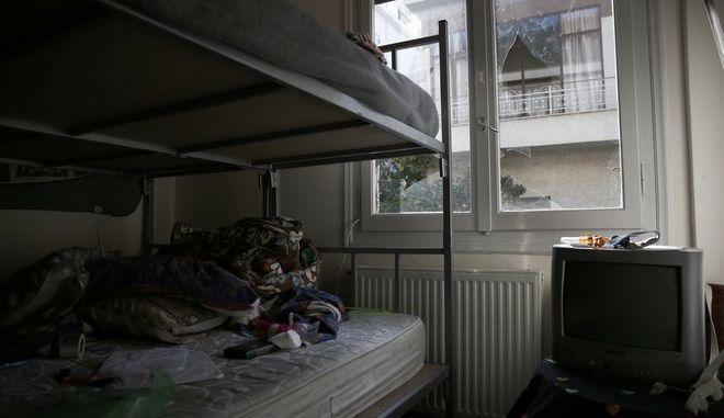Εικόνα από το σπίτι της οικογένειας Αφγανών που έπεσε θύμα επίθεσης στη Δάφνη