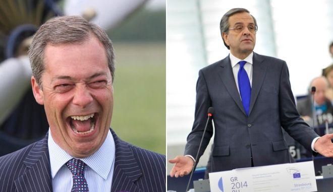 Nigel Farage: Επιστρέψτε στη δραχμή και βλέπουμε για τα Μάρμαρα