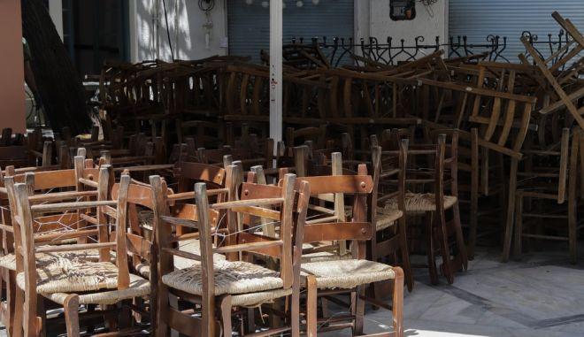 Κλειστό κατάστημα εστίασης στο Μοναστηράκι