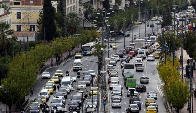 Αυτοκίνητα στην Αθήνα (EUROKINISSI/ ΓΙΑΝΝΗΣ ΠΑΝΑΓΟΠΟΥΛΟΣ)