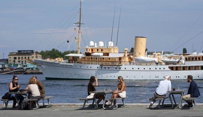 Άνθρωποι στην Κοπεγχάγη