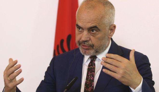 Ο Πρωθυπουργός της Αλβανίας, Έντι Ράμα