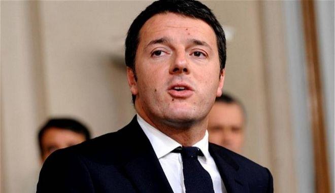 Ο Ματέο Ρέντσι αποκλείει την ανάληψη δράσης στη Συρία, επικεντρώνεται στη Λιβύη