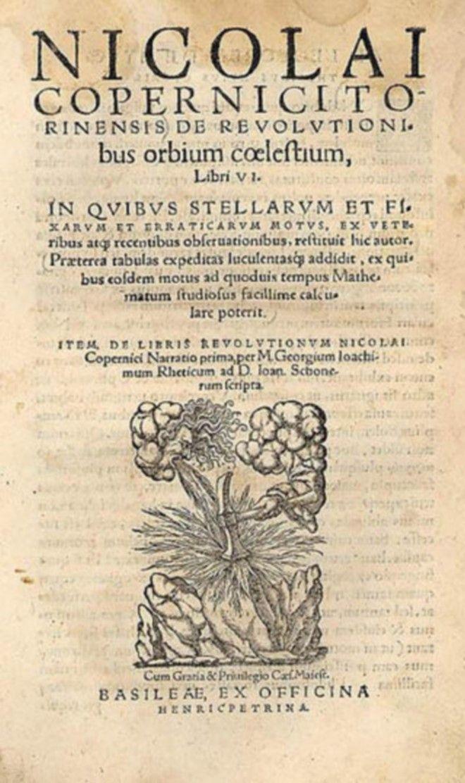 Το δεύτερο βιβλίο του Κοπέρνικου για τις περιστροφές ουράνιων σωμάτων