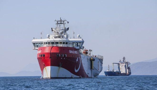 Το τουρκικό πλοίο Oruc Reis
