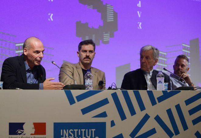 Συνέντευξη Τύπου μαζί με τους συντελεστές της ταινίας απο τον Κώστα Γαβρά για την ταινία Ενήλικη στην Αίθουσα στο Γαλλικό Ινστιτούτο. Παρσκευή 27 Σεπτεμβρίου 2019. (Eurokinissi/ Γίαννης Παναγόπουλος)