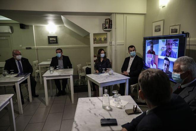 Συνάντηση Τσίπρα με εκπροσώπους εστίασης: Κίνδυνος λουκέτων και ως 120.000 ανέργων
