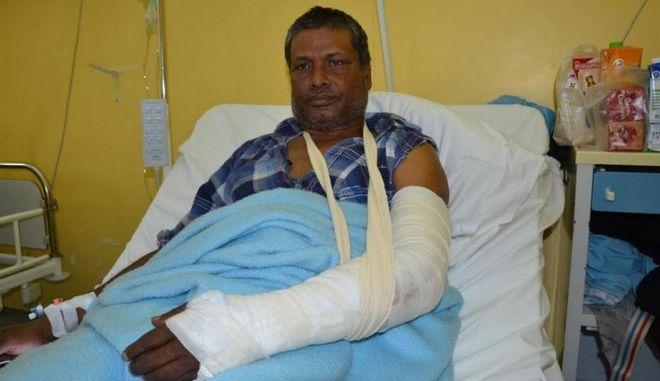 Ο 45χρονος μετανάστης που έπεσε θύμα επίθεσης από Έλληνα στη Λέσβο λόγω του ότι του ζήτησε να μην παρκάρει σε θέση ΑμεΑ