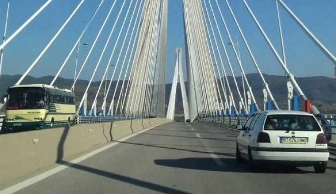 Άνοιξε η γέφυρα Ρίου– Αντιρρίου