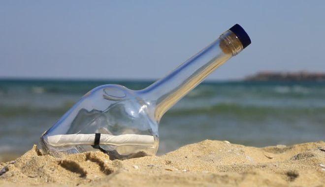 Μπουκάλι με μήνυμα από τις Μπαχάμες βρέθηκε στη γαλλική Βρετάνη