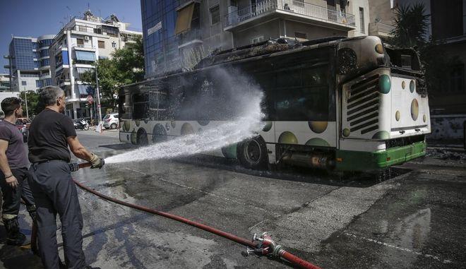 Πυρκαγιά σε αστικό λεωφορείο, Αρχείο