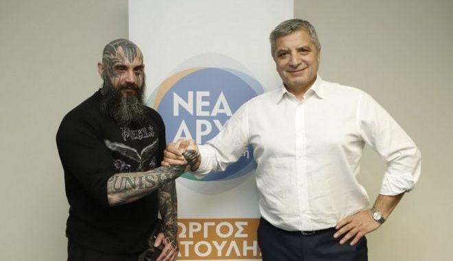 Ο ακτιβιστής Παναγιώτης Μήλας υποψήφιος με τον Γιώργο Πατούλη