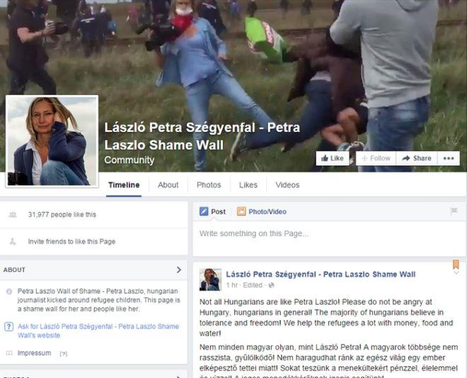 Το Ανώτατο Δικαστήριο της Ουγγαρίας αθώωσε τη δημοσιογράφο που κλωτσούσε μετανάστες