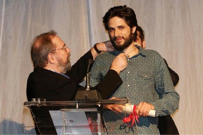 Γιάννης Νιάρρος - Σταμάτης Φασουλής στα Βραβεία