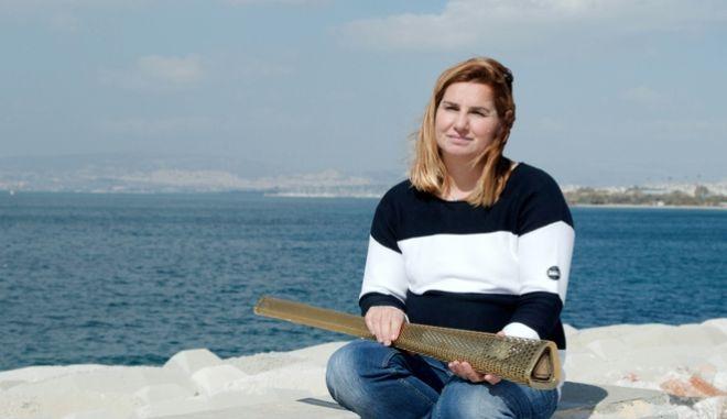 Η Ολυμπιονίκης της Ιστιοπλοΐας Σοφία Μπεκατώρου