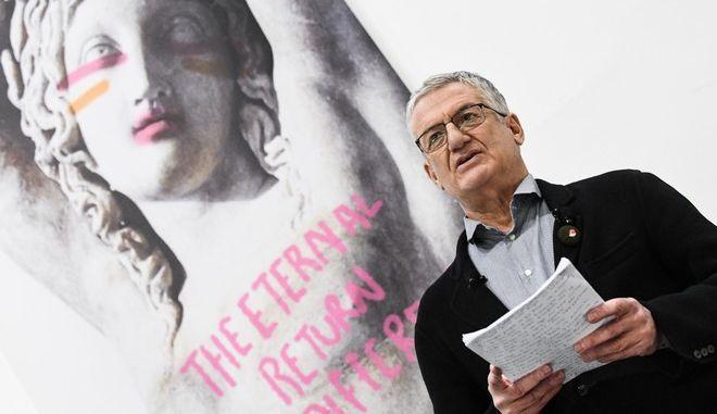 Ο Βαγγέλης Θεοδωρόπουλος, καλλιτεχνικός διευθυντής του Φεστιβάλ Αθηνών και Επιδαύρου