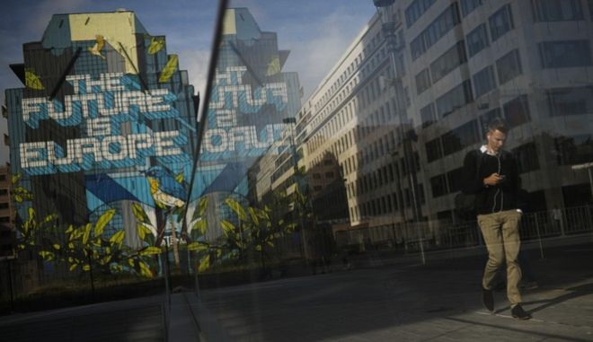 Γκράφιτι σε δρόμο του Βελγίου