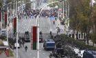 Διαδήλωση κατά του Αλεξάντερ Λουκασένκο στο Μινσκ