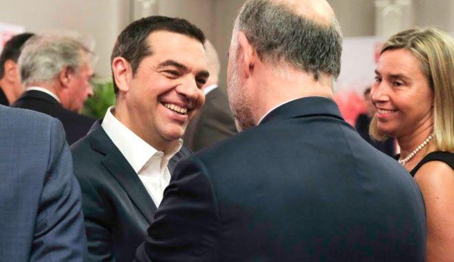 Στους Ευρωπαίους Σοσιαλιστές και πάλι ο Αλέξης Τσίπρας